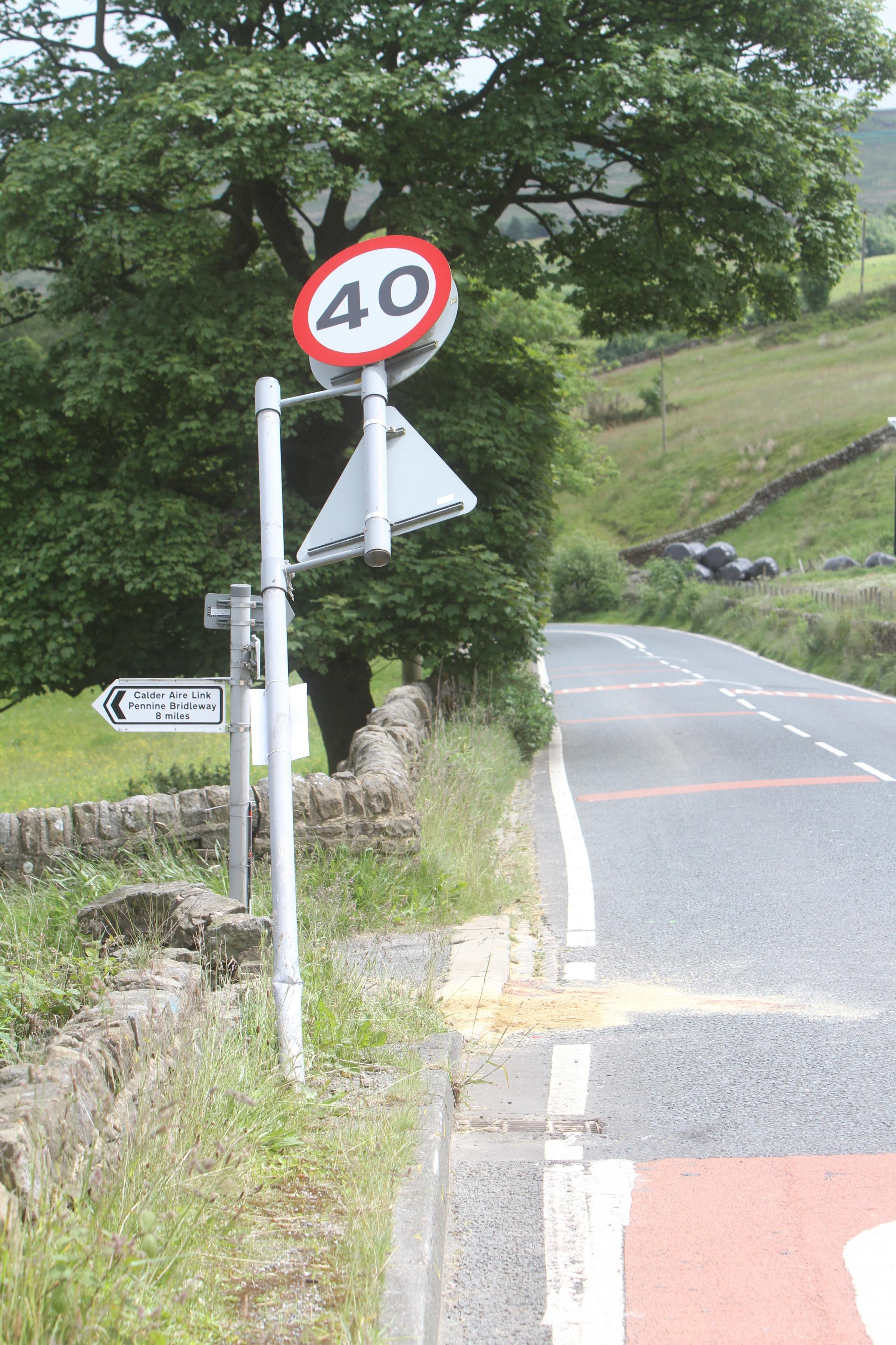 Victim of crash at Oxenhope, near Keighley, is named