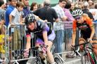Otley road race 2014. womens GP race with Lizzie Armitstead with Dame Sarah Storey  (7815576)