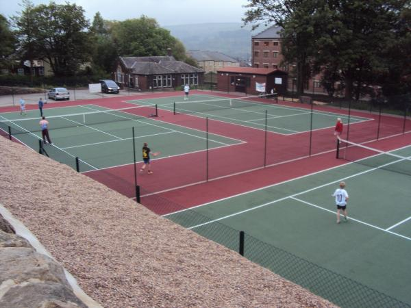 Riddlesden's new courts