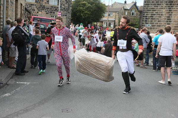 Oxenhope Straw Race hailed a success