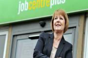 Employer and Partnership Manager, Diana Towler, at Bradford Job Centre on Manningham Lane