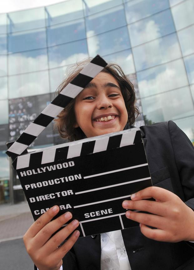 Keighley News: Ainsley Crossley-Harvey, of Ingrow Primary School, Keighley, who was taking part in the finals held at the National Media Museum