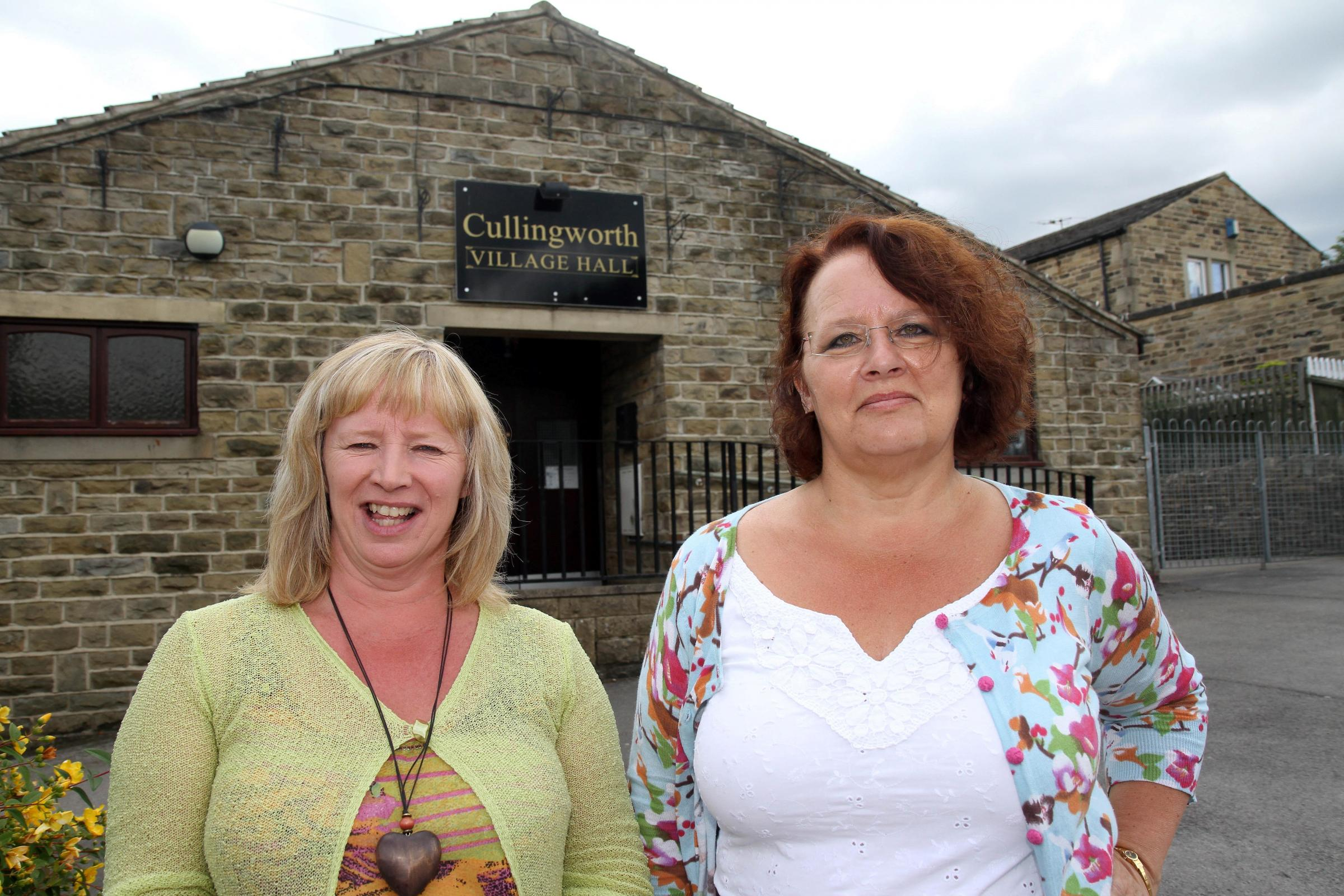 Cullingworth campaigners bid for village hall cash