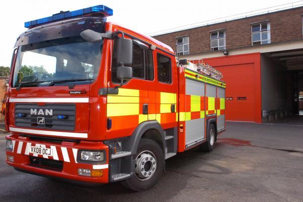 Firefighters rescue Keighley woman trapped beneath wardrobe