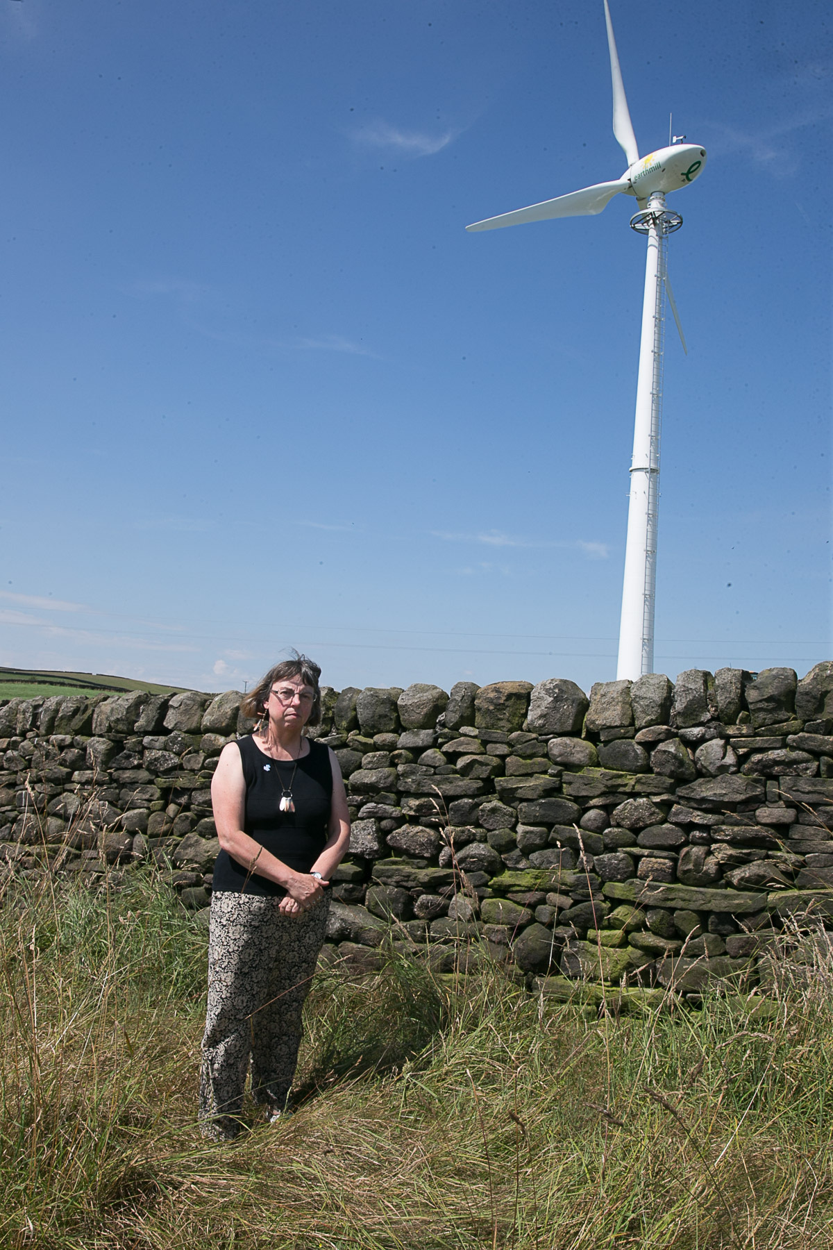 Residents concerned about second wind turbine near Keighley Tarn