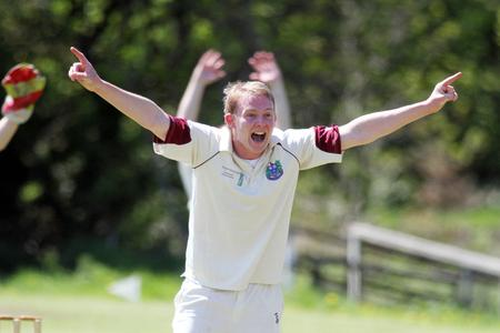 LEADING FROM THE FRONT: Keighley skipper Richard Wear was top wicket-taker (4-55) and run-scorer (37) for his side in their narrow home defeat to Bankfoot last Sunday