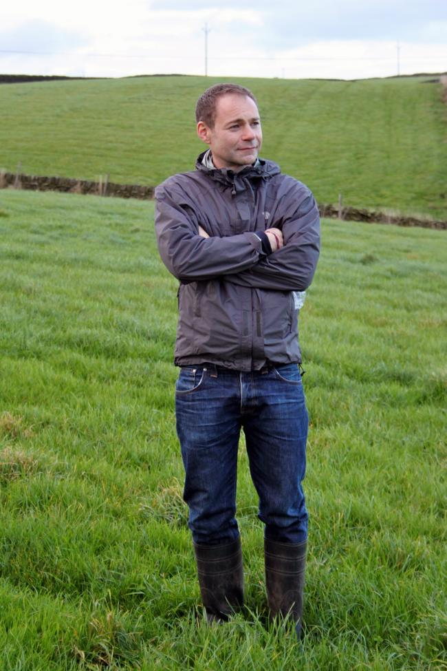 Francis Lee on his father's farm, in Laycock