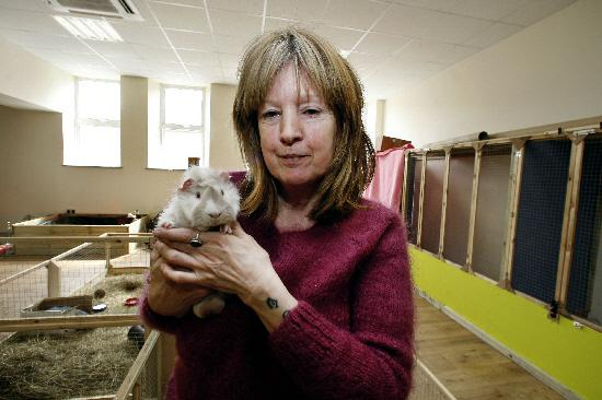 RELIEVED: Animal rescue charity boss Marianne Crowley