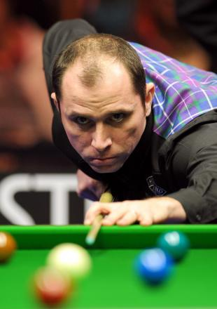 Joe Perry was beaten 4-2 by Chris Melling and then praised the Keighley man's natural ability