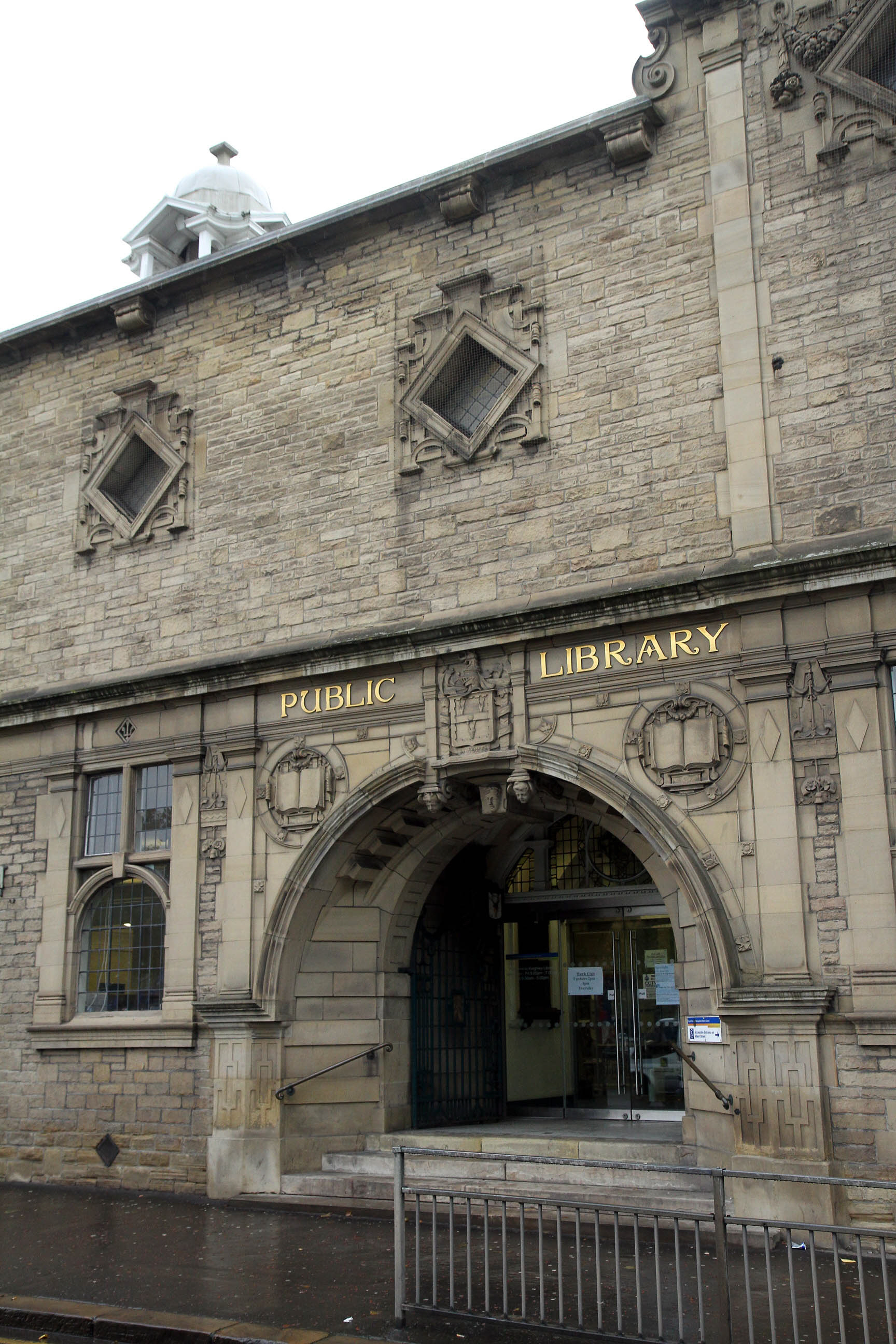Keighley Library tops unpaid fines list
