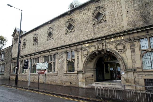 Keighley Library in North Street, which is to receive about £114,000 worth of council cash to improve and repair its roof
