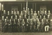 The image showing members of Keighley's Old Contemptibles Association
