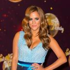Keighley News: Caroline Flack attending the launch of Strictly Come Dancing 2014, at Elstree Studios, Borehamwood, Hertfordshire.