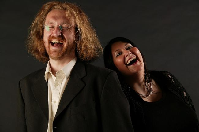 Simon Heywood and Shonaleigh Cumbers, who will be performing in Haworth this autumn