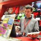 Keighley News: Steve Jackson, apprentice at CeX, in the Airedale Shopping Centre