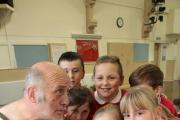 Alex Fellowes brings the ancient Greek world to pupils at Wilsden Primary School (11267357)