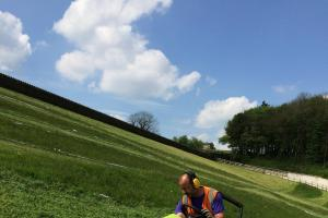 Fields of Vision Tour de France Grand Depart artwork draws to a close in the Worth Valley