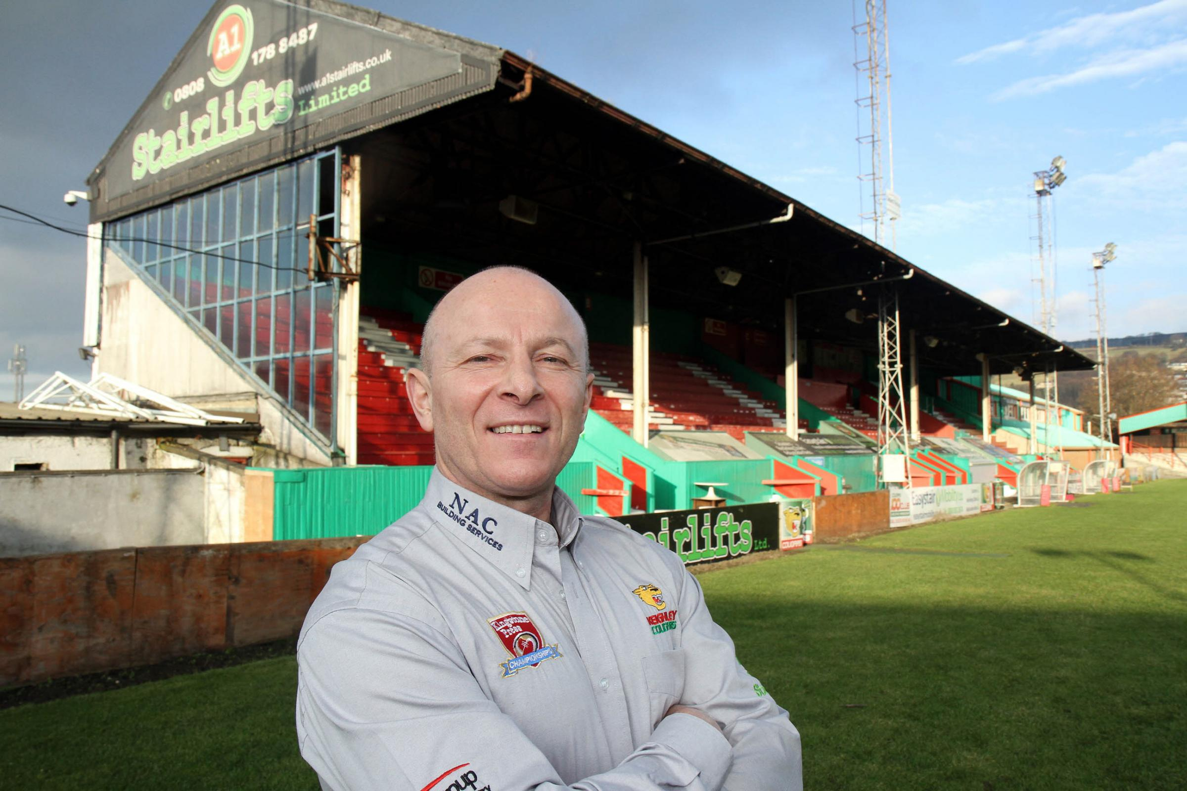 Keighley Cougars chairman, Gary Fawcett