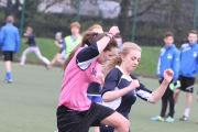 Action from the  inter schools Rememberance football match. (12647896)