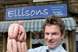Cullingworth butcher's bangers are best in Britain