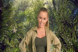 Kendra didn't do so well in tonight's Bushtucker Trial