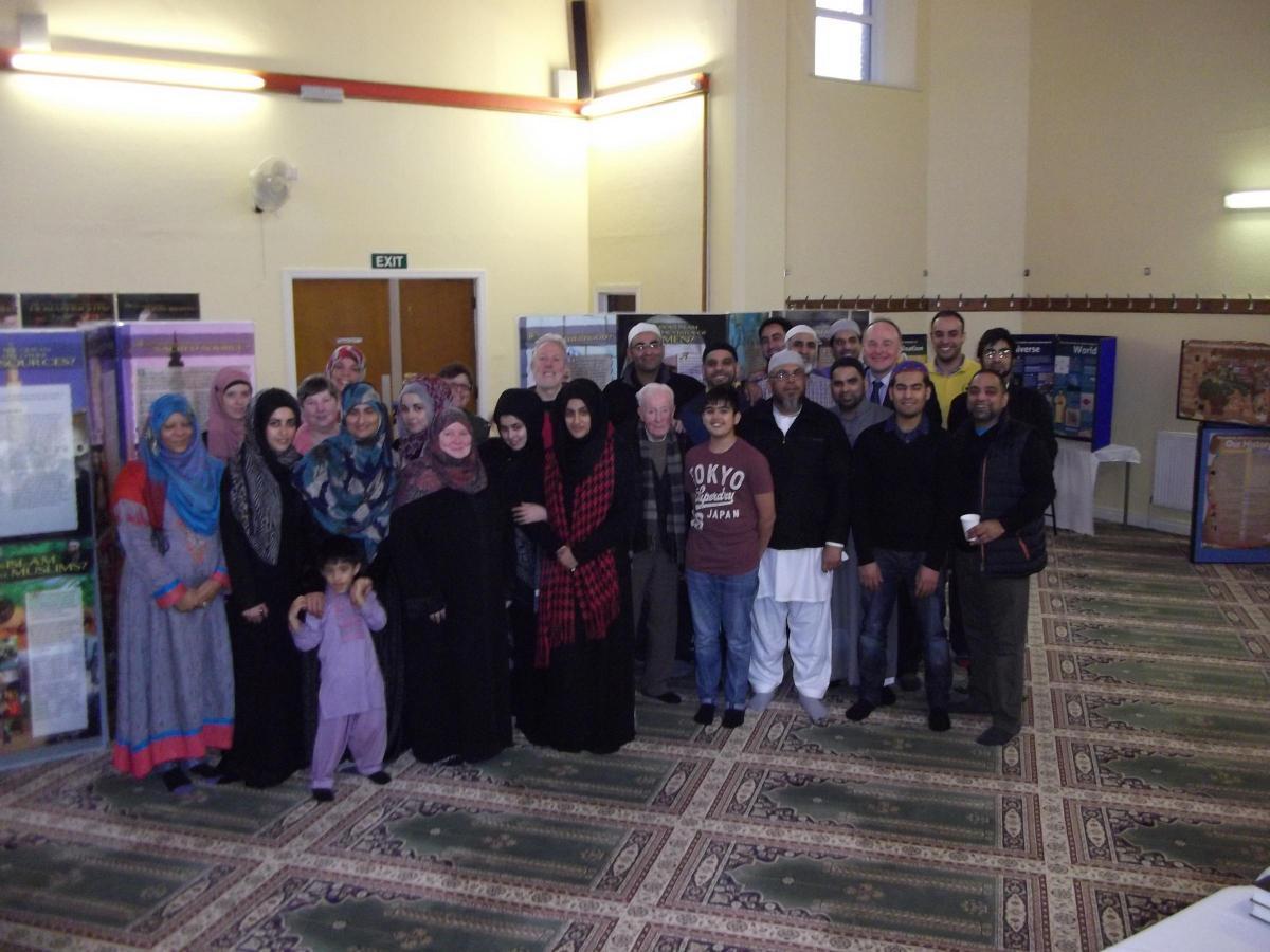 Bridges built between cultures as Highfield's Madinah Mosque throws