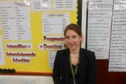 Jessica Mahler, who has been taking part in the Pinnacle Direct teacher training programme at South Craven School