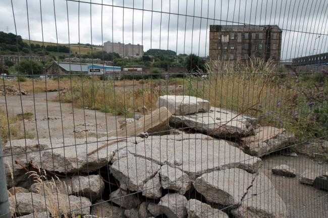 The derelict East Parade site