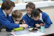Long Lee Primary School pupils test puddings