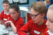 Hothfield Junior pupils get hands-on experience of the science of fingerprint identification