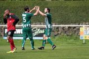 No 5 Sam Rooke was Steeton's goalscorer on a disappointing day for the Chevrons