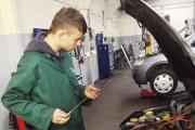Youngsters at work on the Joint Activities & Motor Education Service project