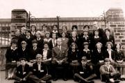 Highfield Secondary Modern form 3B pictured in 1962, with teacher and future MP Bob Cryer