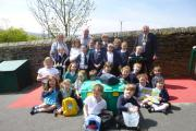 Oldfield pupils who have helped raise money for ShelterBox