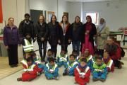 The Parkwood Primary School nursery class during its visit to Sainsbury's