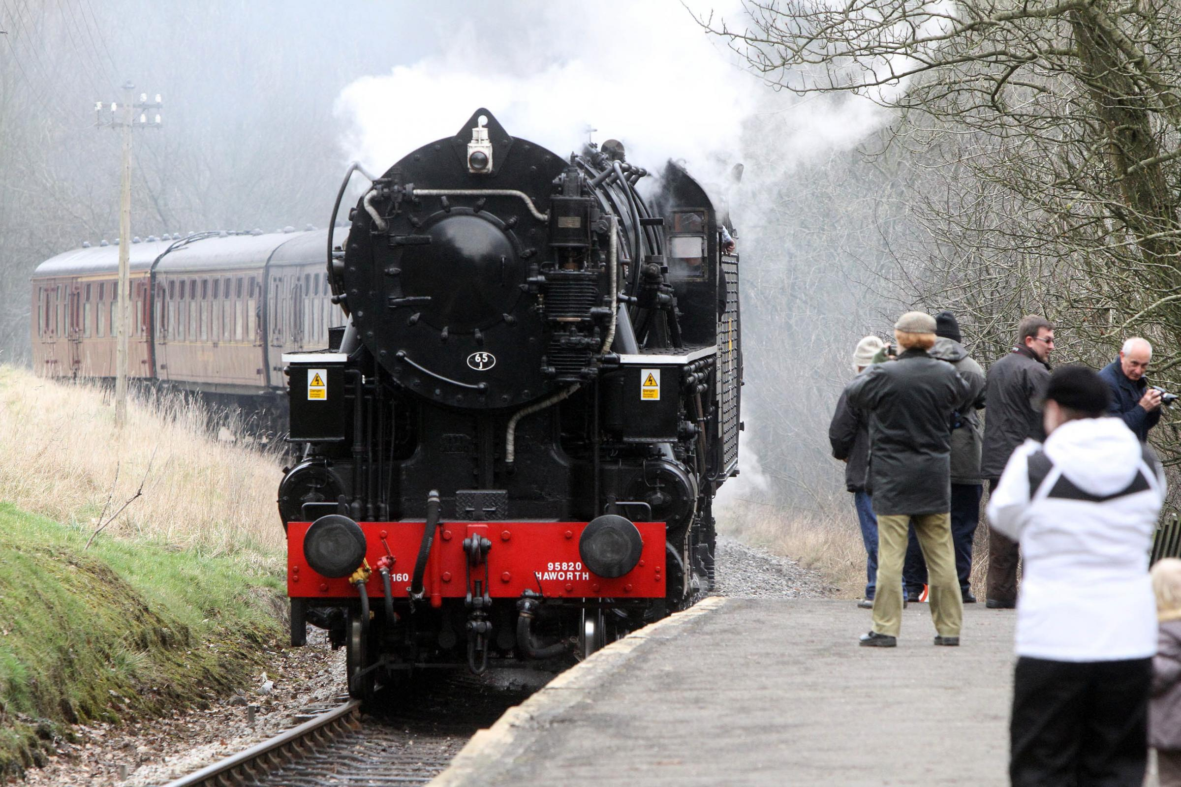 The Keighley & Worth Valley Railway, where filming is taking place for a major production for the BBC