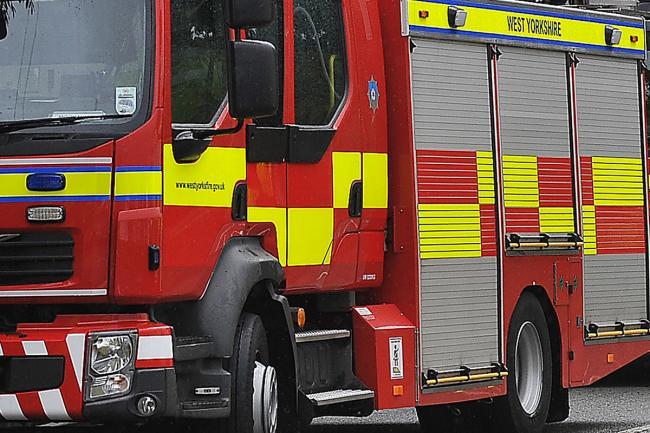 Bin chute fire at block of flats in Hainworth Lane, Keighley