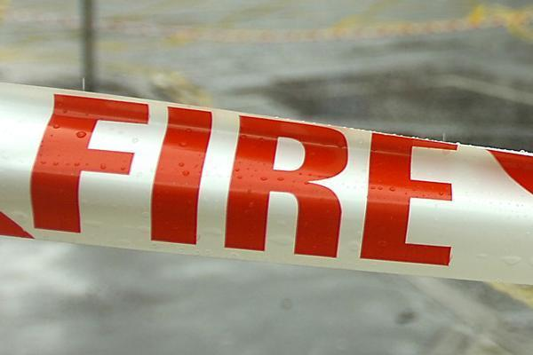 Arson attack on car in Guard House