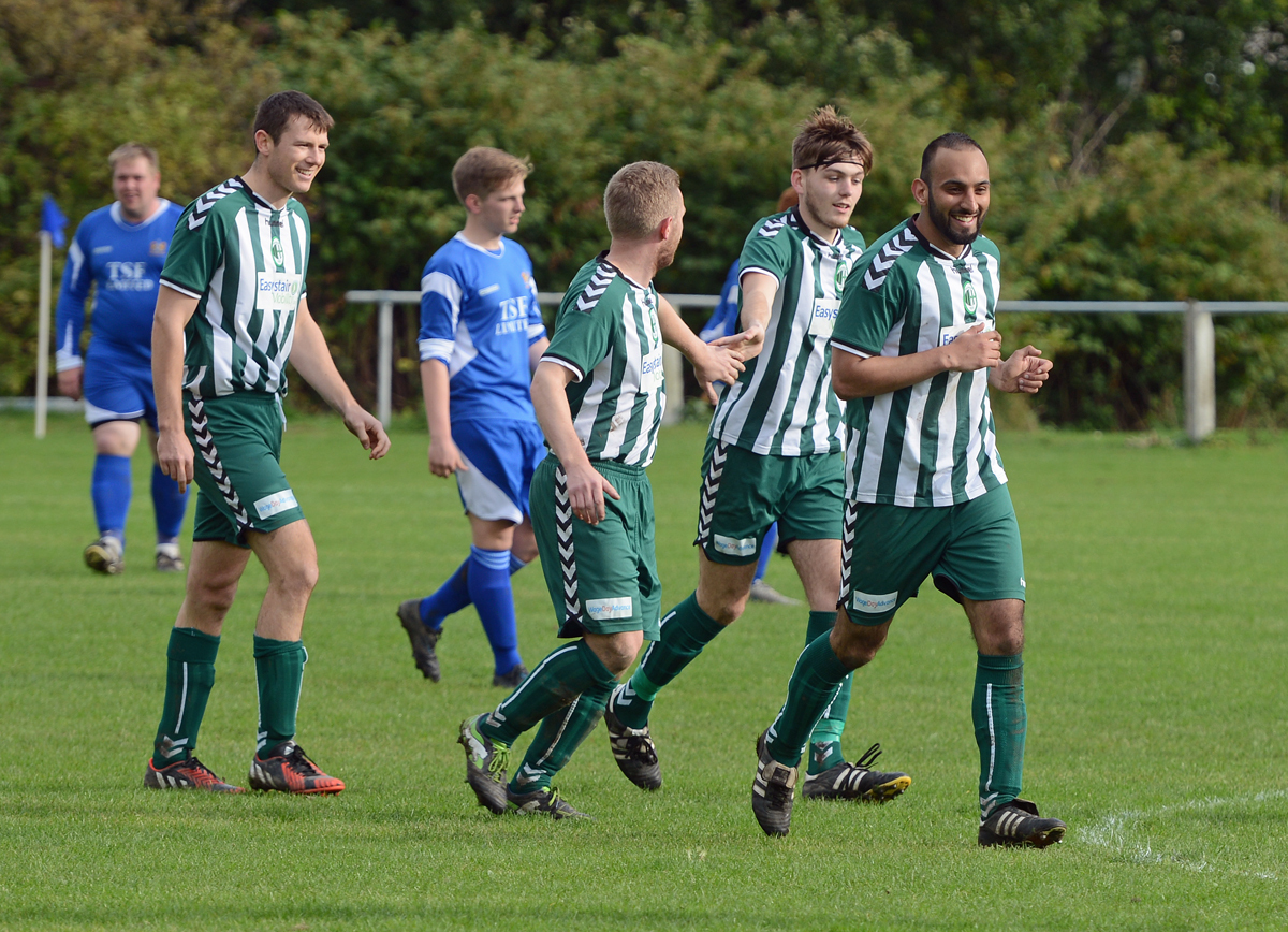 Steeton face Cross Hills in West Riding FA Challenge Cup