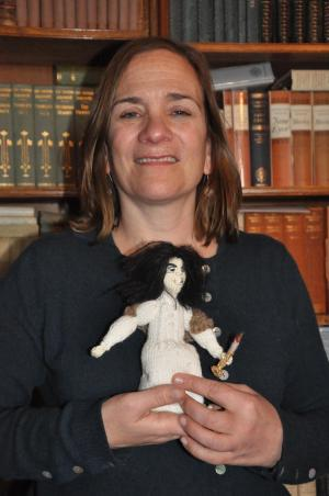 Keighley News: RENOWNED novelist Tracy Chevalier isn't pulling the wool over people's eyes when it comes to promoting Charlotte Brontë!