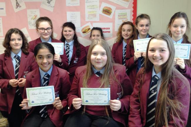 Keighley's Holy Family Catholic School young writers learn to