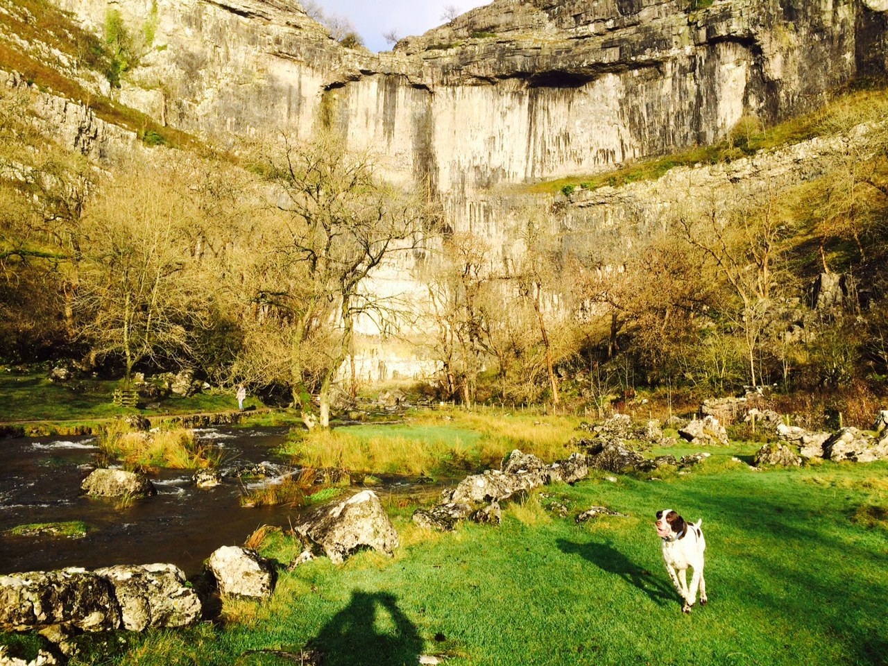 Malham Cove in the Yorkshire Dales