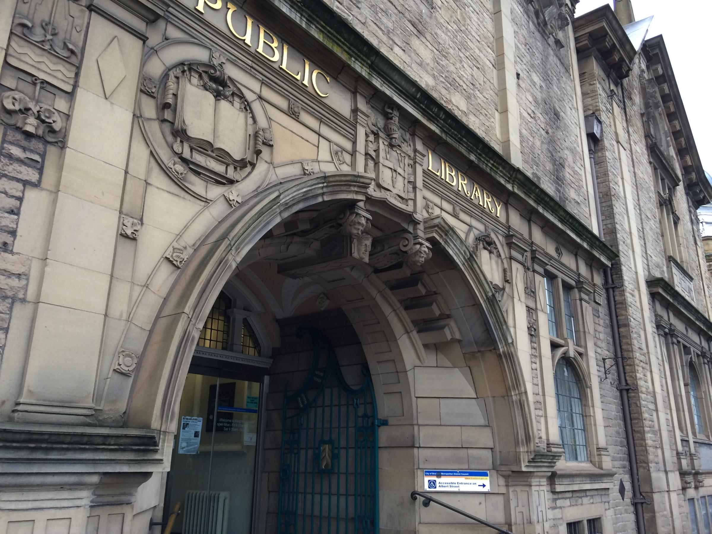 Keighley Library, which was a runner-up in the Rhyme Challenge