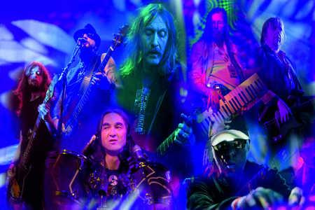 Heavy rock band Hawkwind who are performing in the Yorkshire region