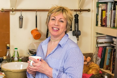 Former Great British Bake Off competitor Sandy Docherty, who will be the special guest at the Little Haworth Bake Off
