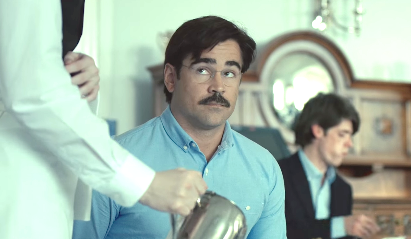 Colin Farrell, who stars in science fiction dark comedy film The Lobster