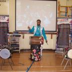 Keighley News: The Punjabi Roots Academy performs at Worth Valley Primary School