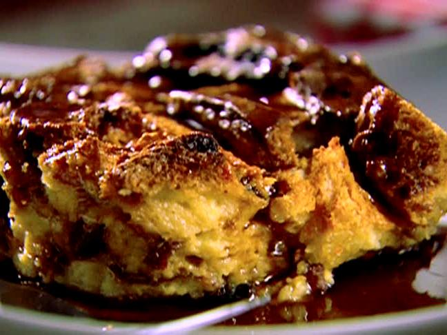 Panettone Bread Pudding is prepared by Amici restaurant in Keighley