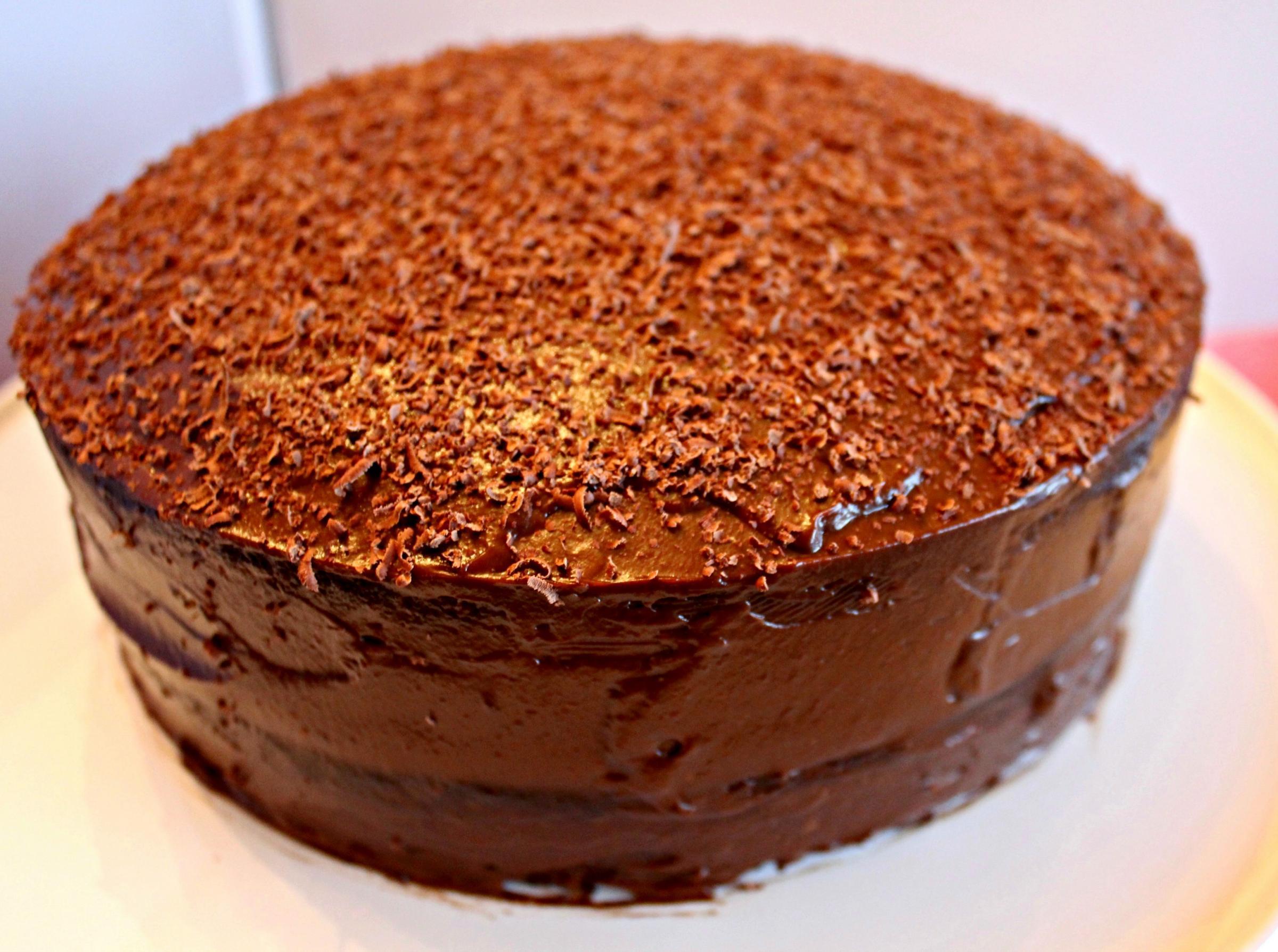 Recipe: chocolate and avocado cake