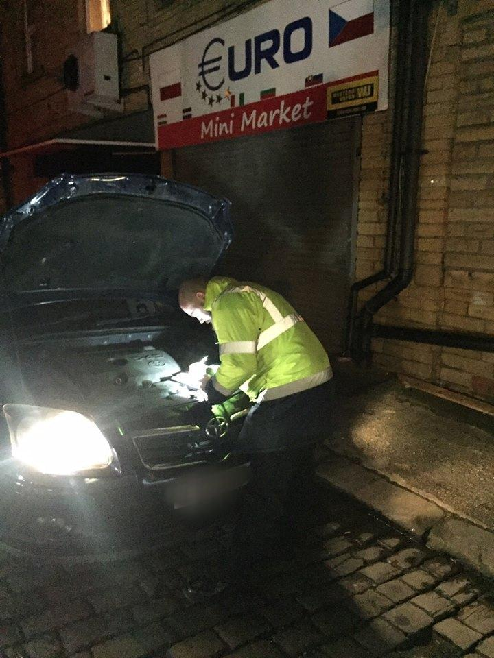 Police In Keighley Take Five Faulty Private Hire Vehicles Off The